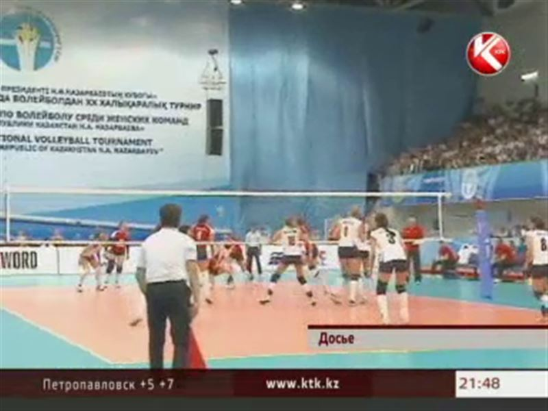 Волейболистки Казахстана завоевали путевку на чемпионат мира