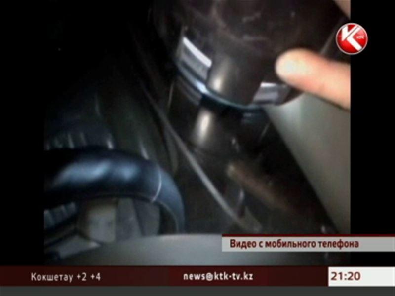 В Караганде должник напал на судоисполнителей, которые пытались изъять его джип