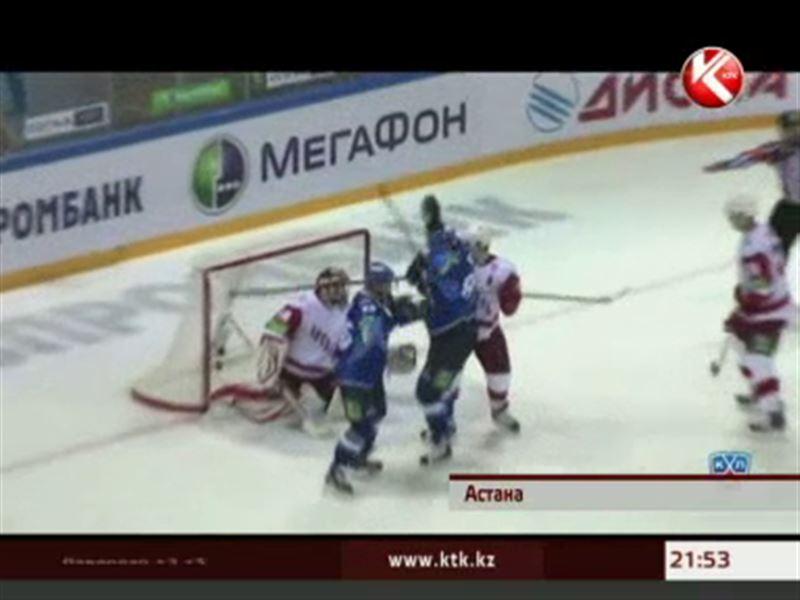 Столичный «Барыс» одержал десятую победу с начала сезона КХЛ