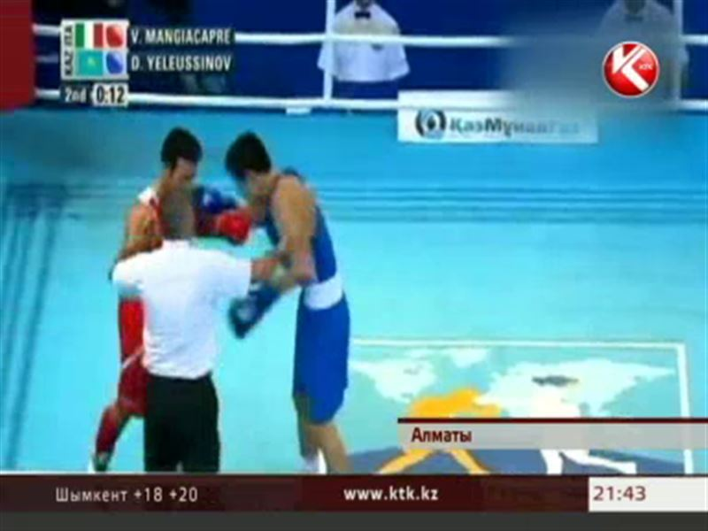 В полуфинал мирового первенства пробились сразу восемь казахстанских боксеров