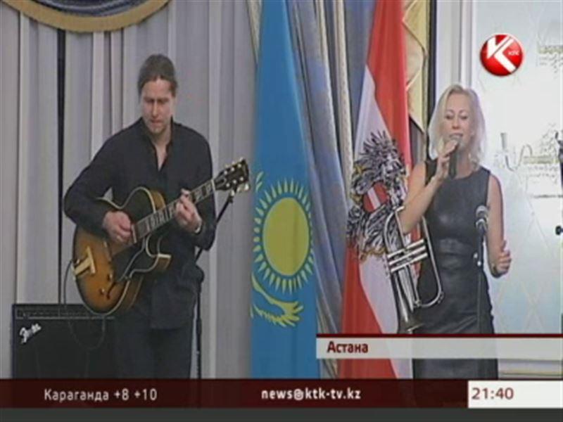 В Астане японцы под звуки латинской музыки отметили День независимости Австрии