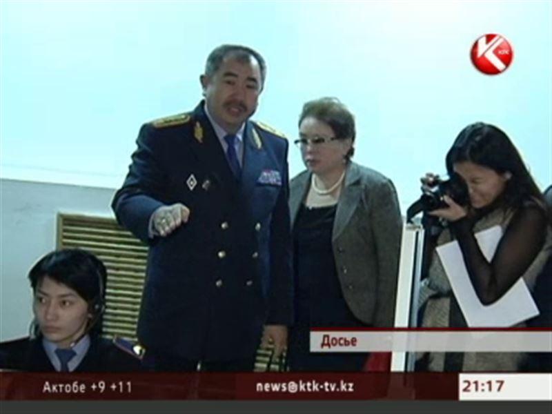 В Алматы опять сменился главный полицейский