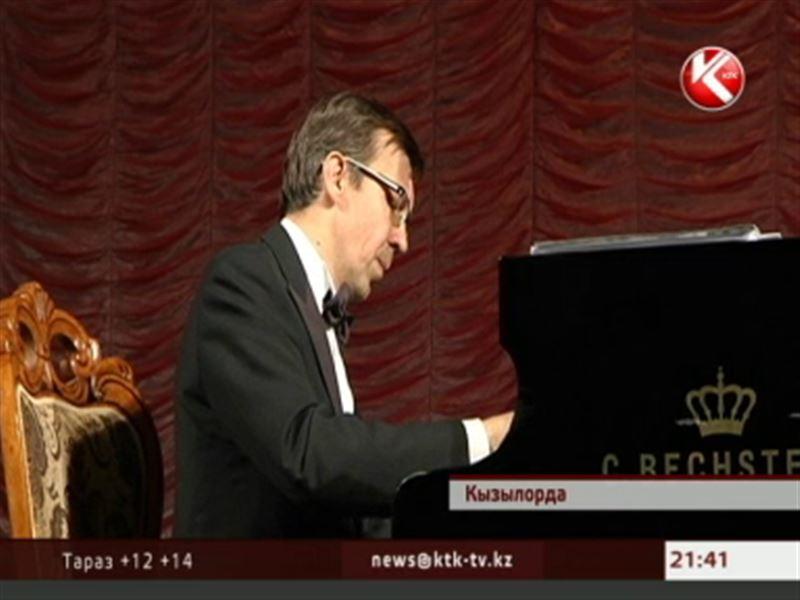 Кызылординским ветеранам подарили незабываемый вечер классической музыки