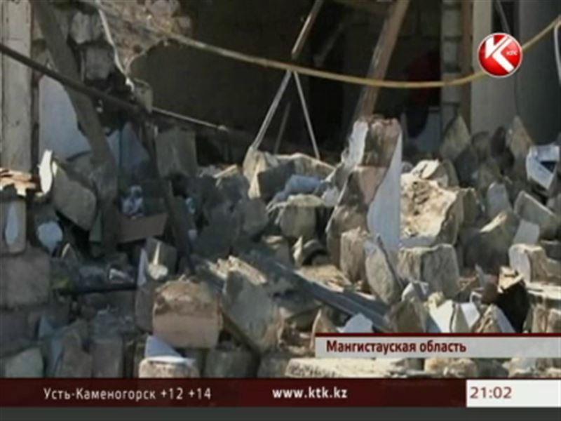 В Мангистауской области в жилом доме прогремел мощный взрыв