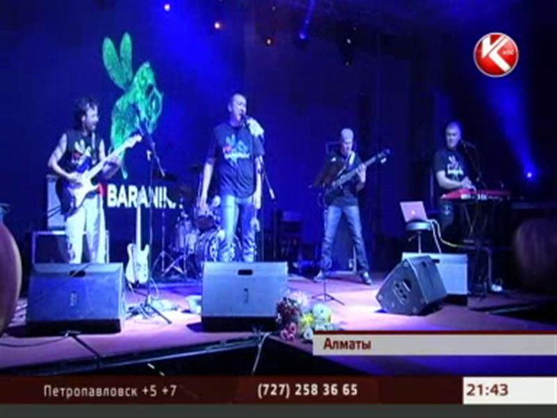 Казахстанские рокеры раскрыли секрет билбордов «I love baranina»