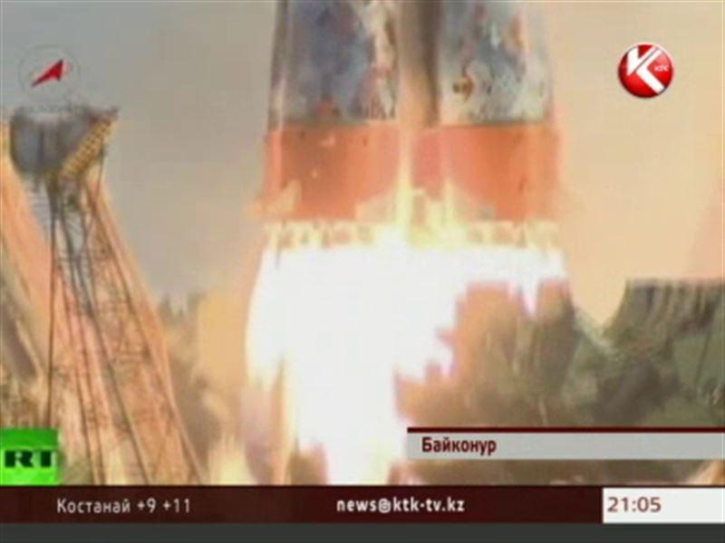 Олимпийский огонь полетел в космос с космодрома «Байконур»