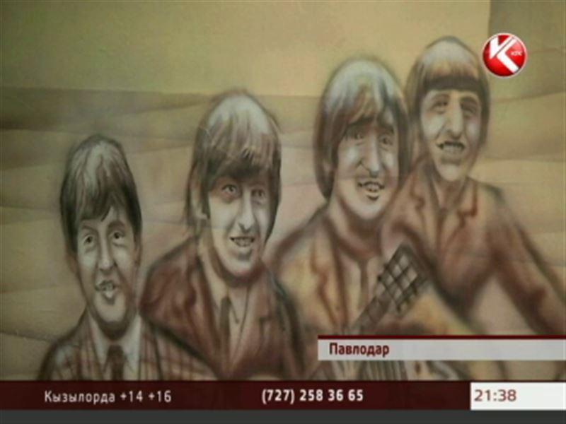 В Павлодаре появилось нарисованное метро