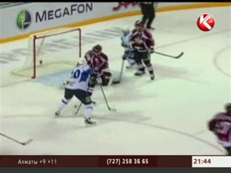 Столичный «Барыс» уступил рижскому «Динамо» - 3:2