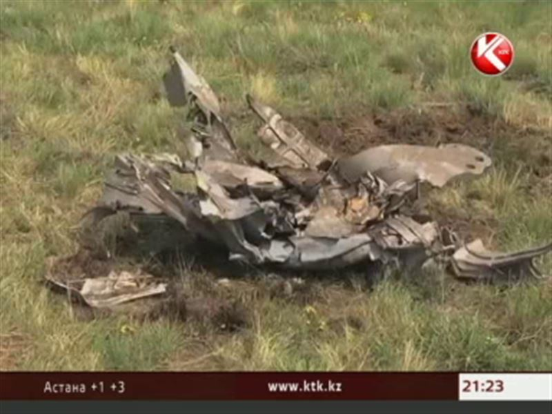 МиГ-31 рухнул под Карагандой, потому что не до конца закрутили гайку