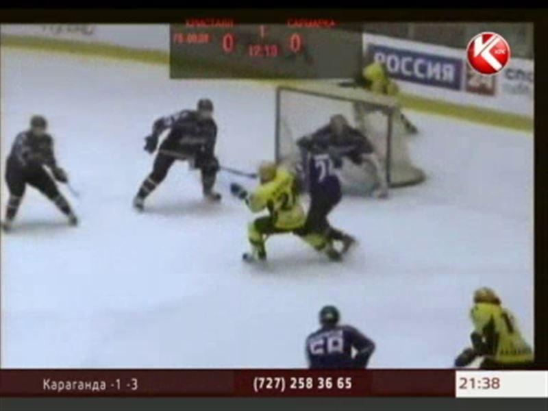 Карагандинская «Сарыарка» продлила победную серию в регулярном чемпионате ВХЛ