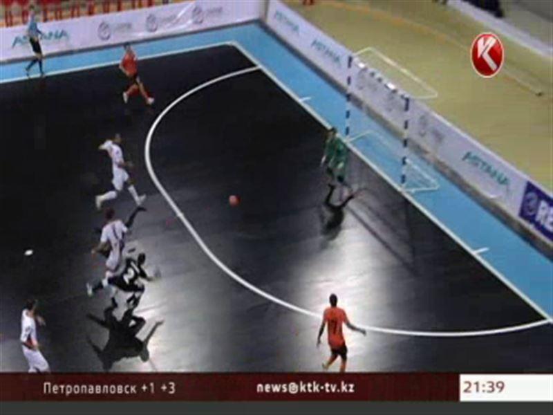 В Алматы стартовал розыгрыш Элитного раунда Кубка УЕФА по футзалу