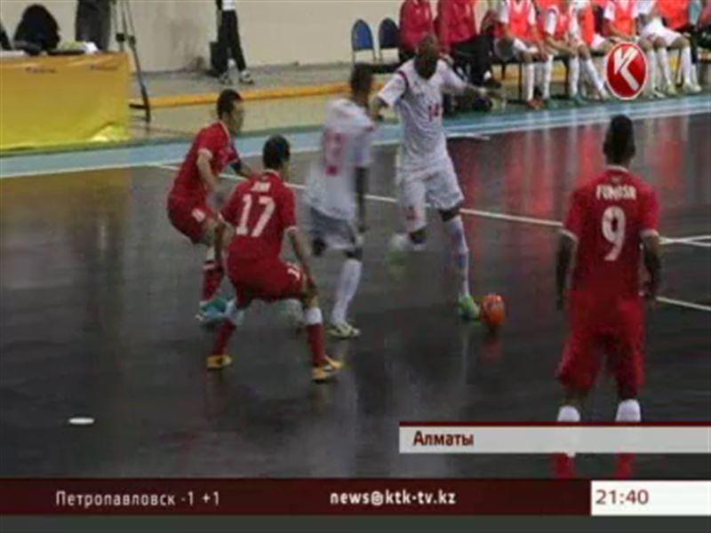 В Алматы завершился розыгрыш Элитного раунда Кубка УЕФА по футзалу