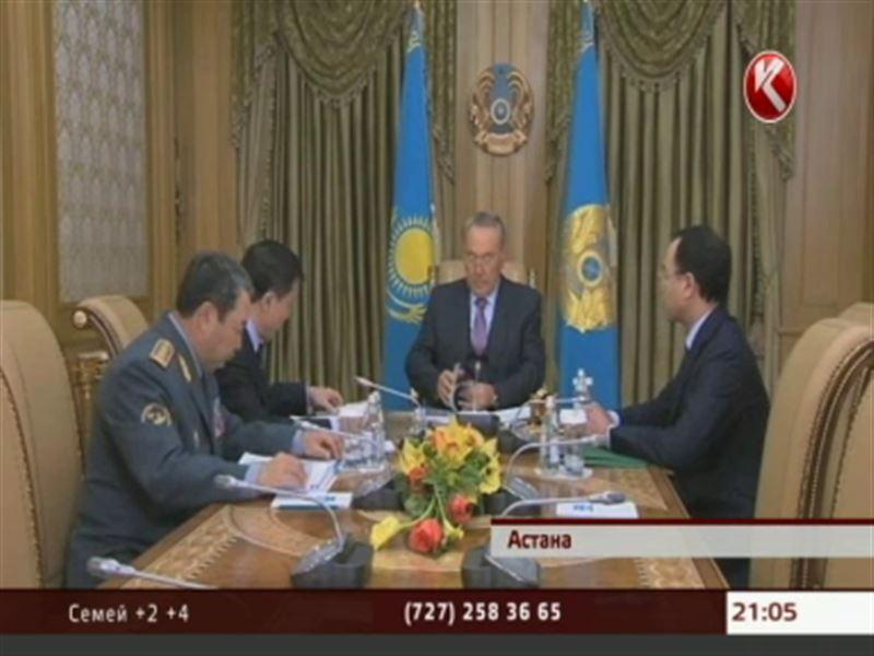 О своих личных успехах Президенту доложили министр обороны и глава «Казахстан Темир Жолы»