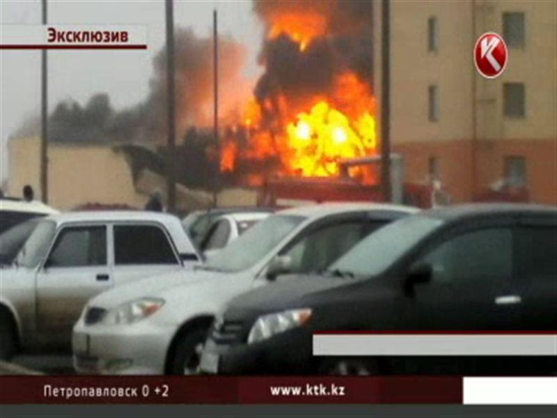 В Астане на территории элитной войсковой части прогремел оглушительный взрыв