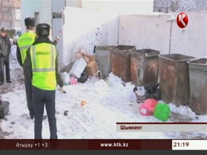 В Шымкенте мать выбросила труп новорожденного ребенка