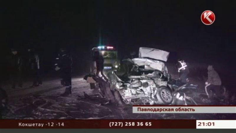 Кровавое ДТП в Павлодарской области унесло жизни 6 человек