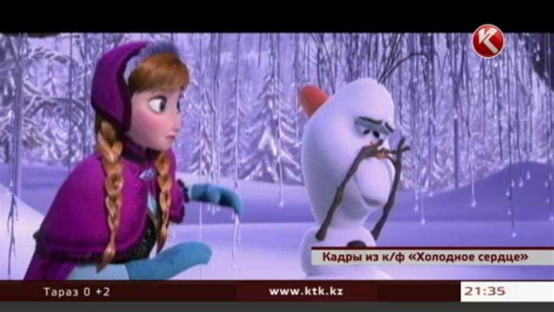Алматинские детдомовцы на два часа погрузились в зимнюю сказку