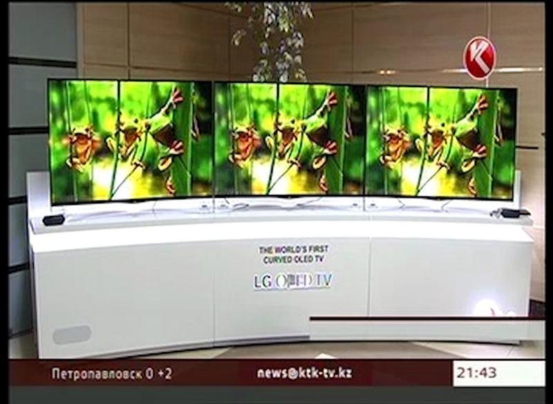 Компания LGпредставила первый в мире телевизор с изогнутым экраном