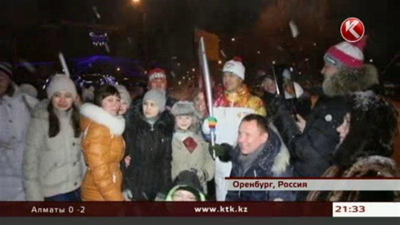 Глава «Кайрата» принял участие в эстафете Олимпийского огня