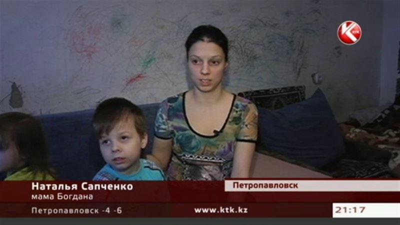 Маленькому Богдану из Петропавловска необходимо лечение за границей