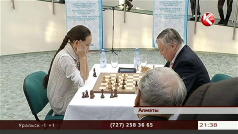 13-летняя шахматистка Жансая Абдумалик выиграла партию у самого Анатолия Карпова