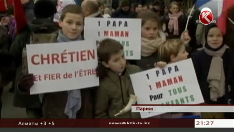 В Париже устроили массовые беспорядки из-за Франсуа Олланда