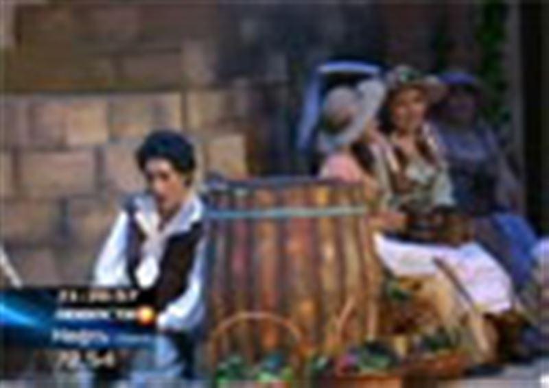 Впервые  в  театре оперы и балета имени Абая решили поставить спектакль Гаэтано Доницетти «Любовный напиток»