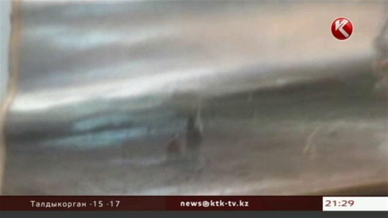 В Кыргызстане нашли украденную картину Айвазовского