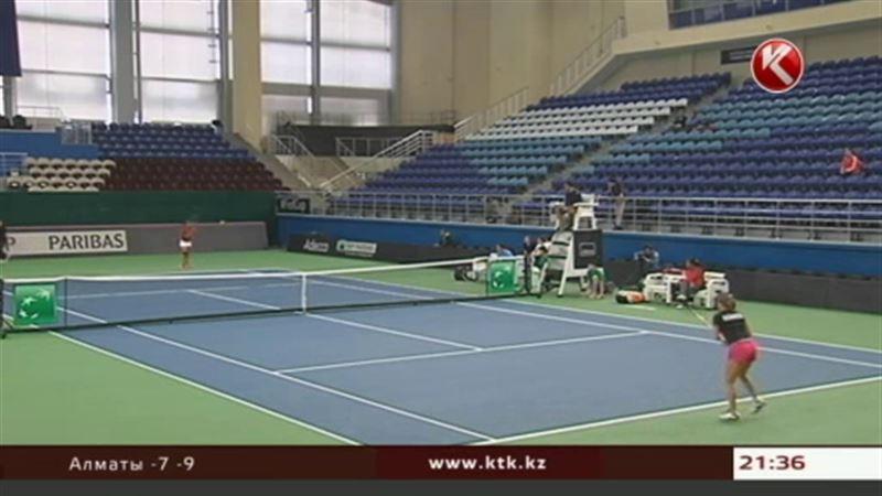 Сборная Казахстана по теннису успешно стартовала на Кубке Федерации