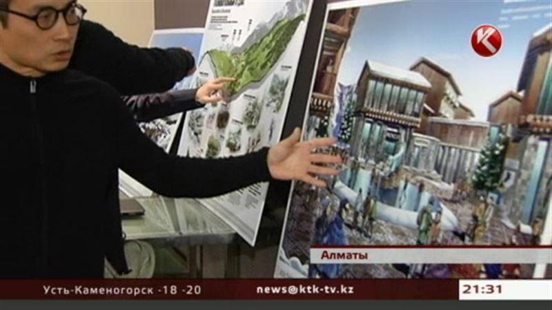 Каким будет Кок-Жайляу, продемонстрировал японский архитектор