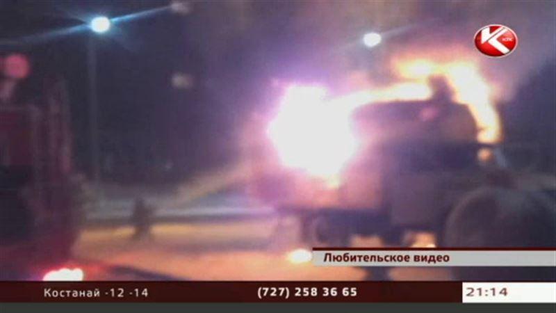 В Павлодаре едва не взлетел на воздух грузовик аварийной службы