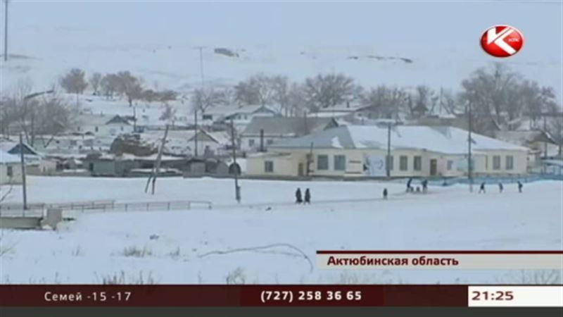 В заснеженном ауле Актюбинской области на исходе даже самые необходимые продукты
