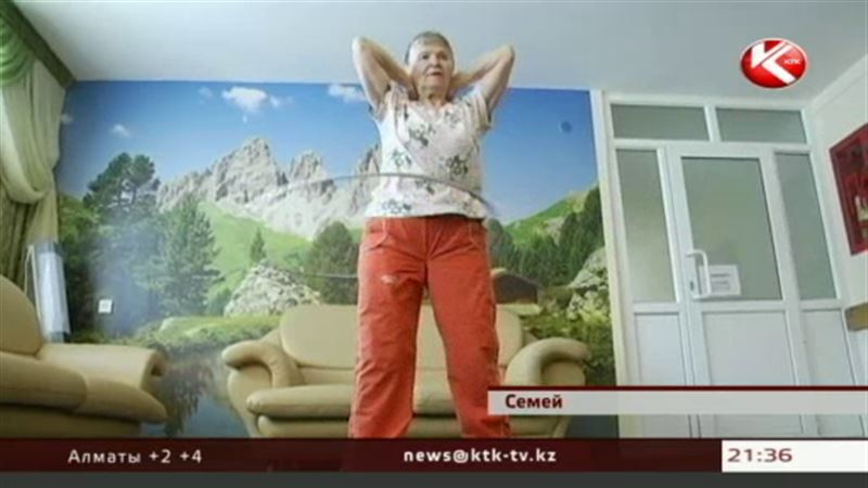 В Семее открыли дневное отделение в доме престарелых