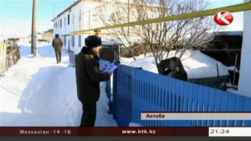 В Уральск вернулись холода, а в Актобе готовятся к паводкам