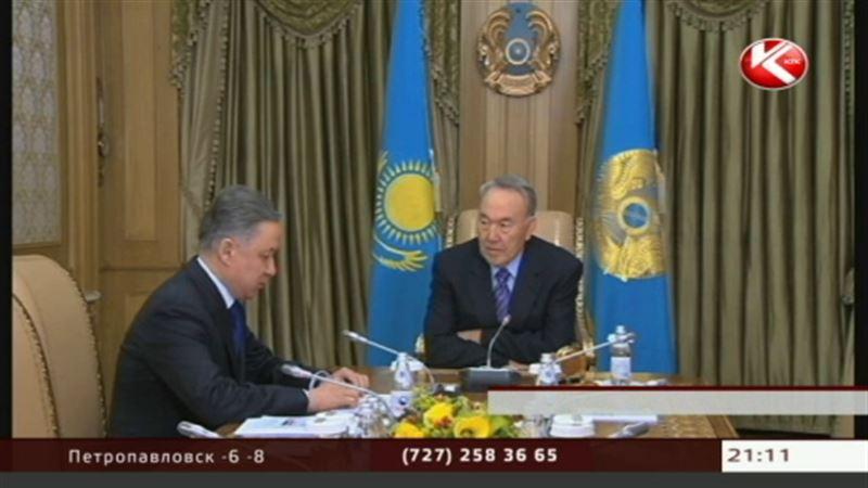 Нурлан Нигматулин рассказал Президенту об ударной работе своих подчинённых
