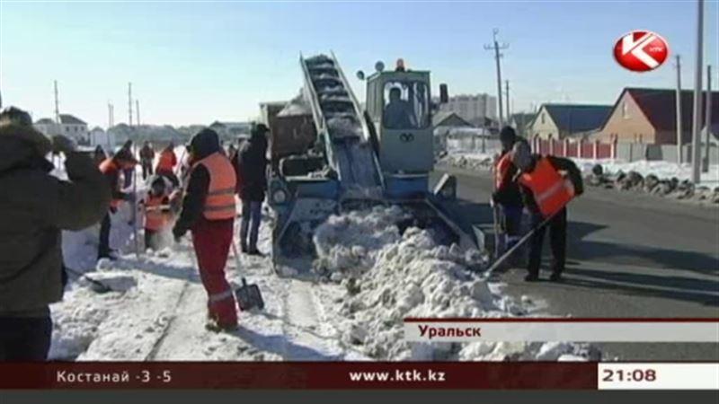 В Уральске в авральном режиме готовятся к весенним паводкам