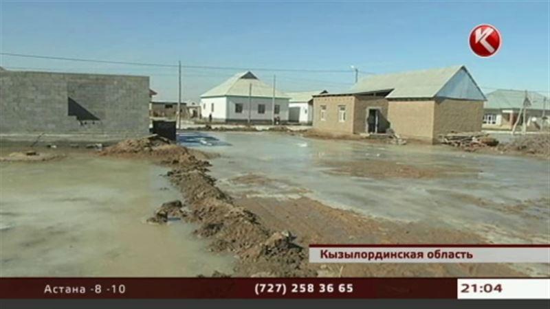 В Кызылординской области люди спасаются от большой воды
