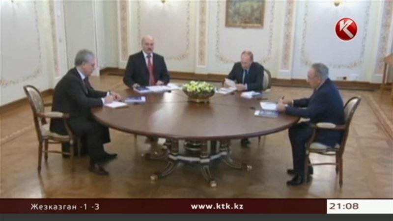 В Москве завершилась встреча Назарбаева, Путина и Лукашенко