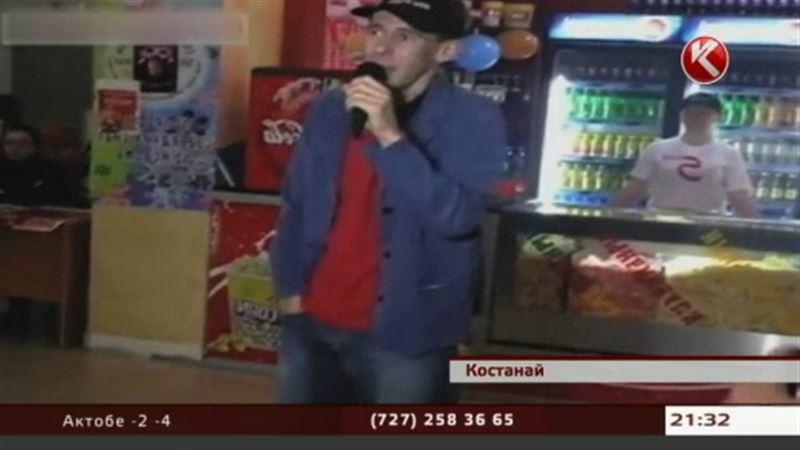 Алексей Панин продавал попкорн в одном из костанайских кинотеатров