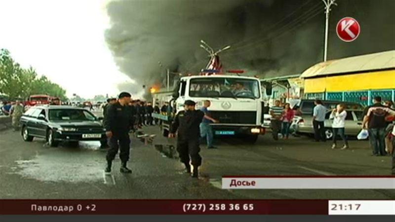 Директор базара и сварщик ответят за сгоревшие рынки в Алматы