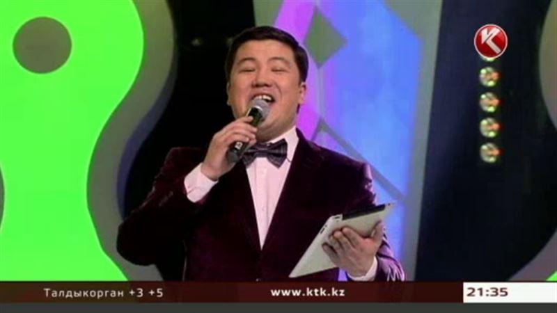 Турсынбек Кабатов будeт развлекать зрителей КТК в воскресенье