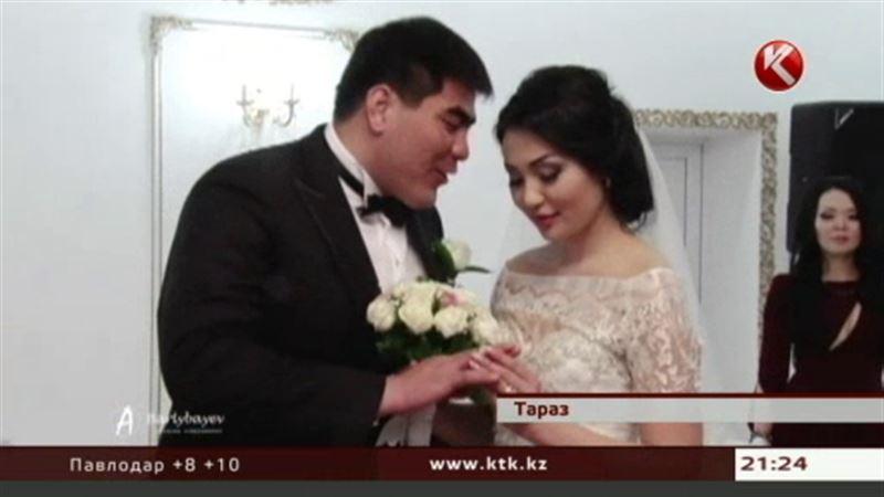 В Таразе с размахом женили победителя турнира «Казахстан Барысы»