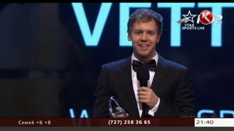 Пилот «Формулы-1» Себастьян Феттель стал спортсменом года