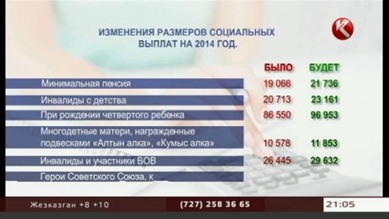 Со следующей недели 4 миллиона казахстанцев будут получать больше
