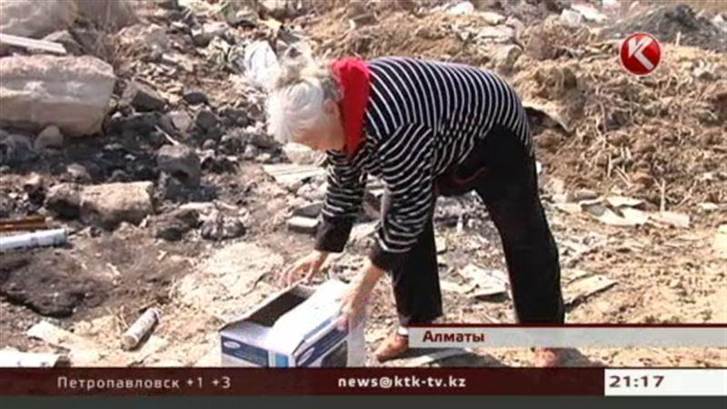 Алматинская пенсионерка обнаружила на помойке новорождённого и хочет воспитывать его сама