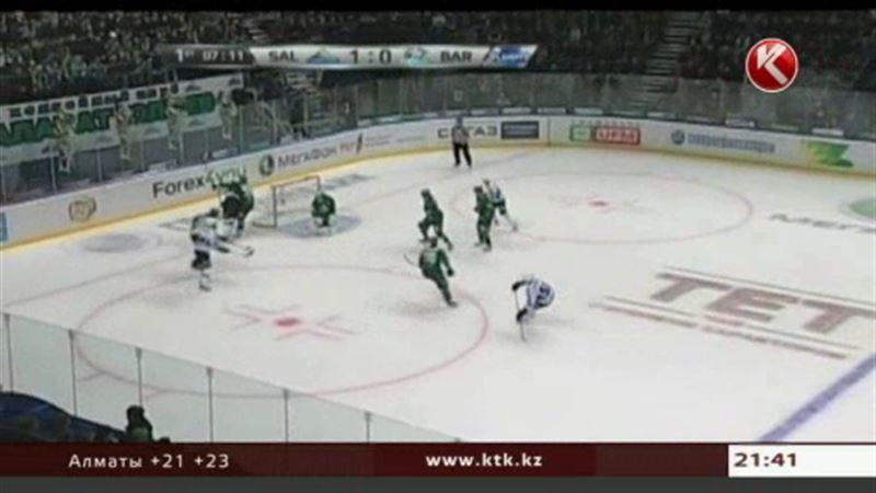 «Барыс» не сумел пробиться в финал плей-офф Восточной конференции КХЛ