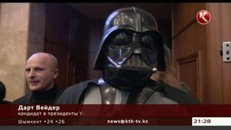 В президенты Украины собрался и герой «Звездных войн»