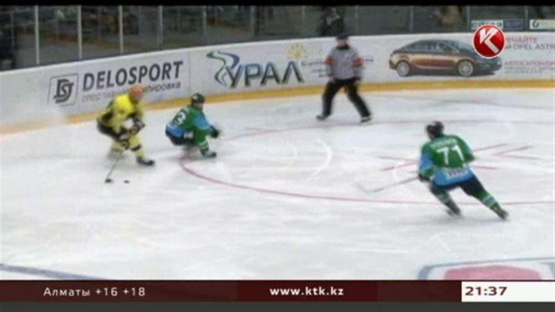 «Сарыарка» обыграла нефтекамский «Торос» в матче полуфинальной серии ВХЛ