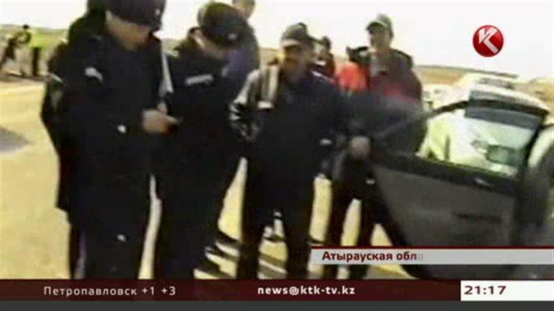 В Атырауской области задержали мужчину с рогами