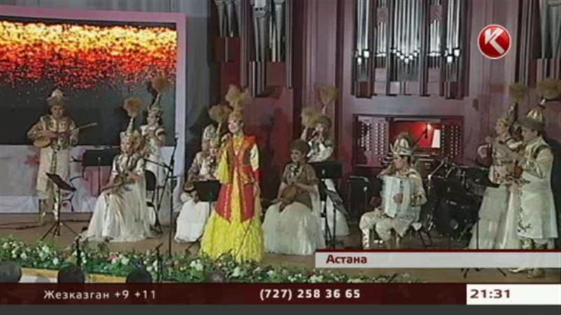 Японские мелодии исполнили на казахской домбре в Астане